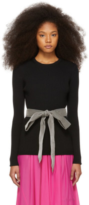 Marc Jacobs Black Belt Sweater