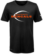 Nike Nfl Legend Cincinnati Bengals T-Shirt, Little Boys(4-7)