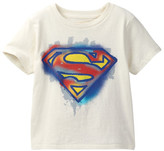 Junk Food Clothing Superman Sprayed Graphic Tee with Cape (Toddler Boys)