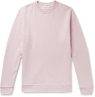 Oliver Spencer Loungewear Harris Organic Fleece-Back Cotton-Jersey Sweatshirt