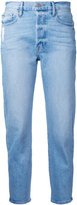Frame straight cropped jeans - women - Cotton/Spandex/Elastane - 24