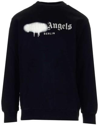 Palm Angels Milano Sprayed Sweatshirt