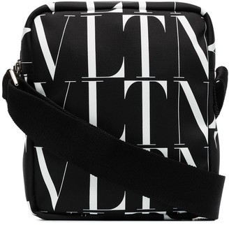 Valentino VLTN logo-print camera bag