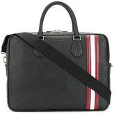 Bally laptop bag with Stripe trim - men - Calf Leather - One Size