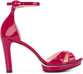 Repetto ankle strap platform sandals