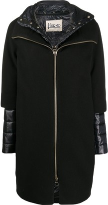 Herno Layered Padded Detail Coat