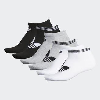 adidas Trefoil No-Show Socks 6 Pairs