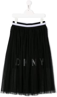 DKNY TEEN tulle midi skirt
