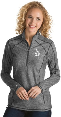 Antigua Women's Los Angeles Dodgers Tempo Pullover
