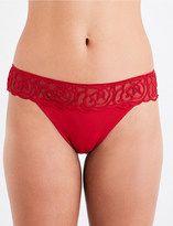 Chantelle Lux stretch tanga briefs