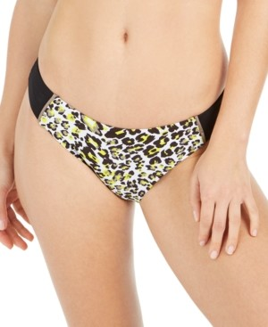 Soluna Into the Wild Printed Hipster Bikini Bottoms Women's Swimsuit