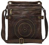 Patricia Nash Distressed Vintage Collection Francesca Sling Cross-Body Bag