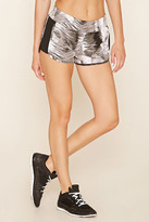 Forever 21 FOREVER 21+ Active Abstract Dolphin Shorts