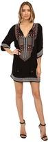 Tolani Florina Embroiderd Tunic Dress