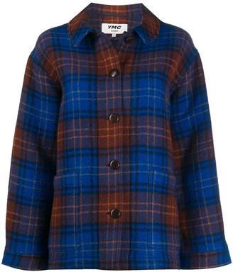 YMC Tartan Shirt Coat