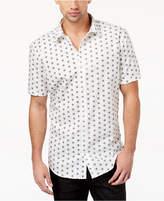 INC International Concepts I.N.C. Men's Skull-Print Shirt, Created for Macy's