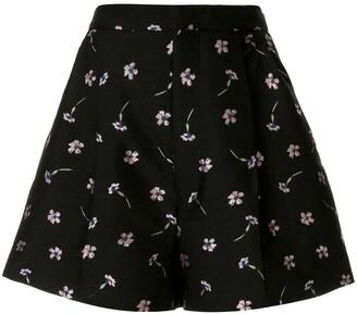 Markus Lupfer Flare Floral Shorts