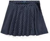 Ralph Lauren Polka-Dot Twill Circle Skirt