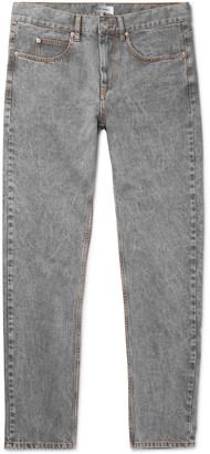 Isabel Marant Jack Acid-Washed Denim Jeans