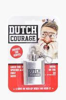 Boohoo Dutch Courage Hip Flask Keyring