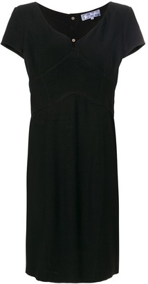 Thierry Mugler Pre Owned shortsleeved fitted dress