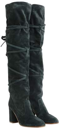 Zimmermann Tie Up Over the Knee Boot