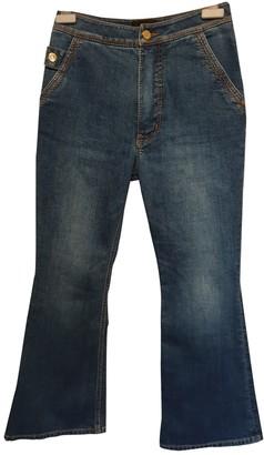 Ellery Blue Cotton Jeans for Women