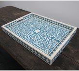 Design MIX Furniture Traditional Bone Inlay Serving Tray