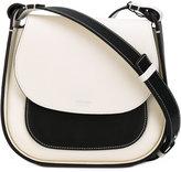 Giorgio Armani colour block flap shoulder bag
