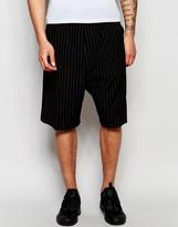 Izzue Shorts In Pinstripe