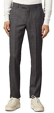 Sandro Marled Slim Fit Suit Pants