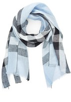 Burberry Men's Exploded Check Linen Scarf