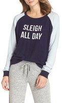 Make + Model Women's Cozy Crew Raglan Sweatshirt