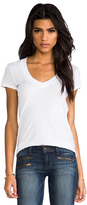 Classic Relaxed Casual V Tee