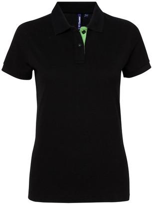 Asquith Fox Asquith & Fox Women's Contrast Polo Shirt