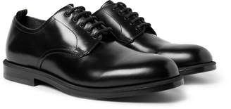 Dunhill College Polished-Leather Derby Shoes