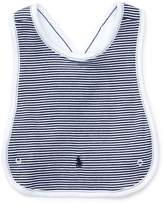 Ralph Lauren Striped Cotton Cross-Back Bib
