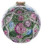 Judith Leiber Embellished Floral Minaudière