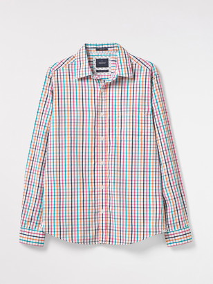 White Stuff Any-wear Multi Check Shirt