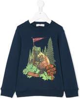 Stella McCartney bear print sweatshirt