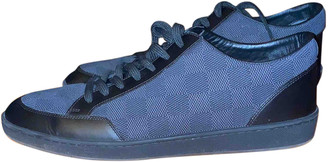 Louis Vuitton OffShore Black Cloth Trainers