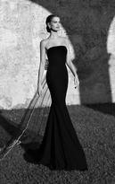 Tarik Ediz Bejeweled Bow Gown 92560