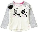 Joules Baby Girls 12 Months-3T Animate Panda Raglan Jersey Top