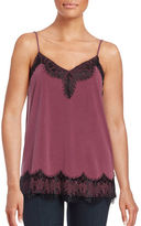 Ella Moss Lace-Trimmed Camisole