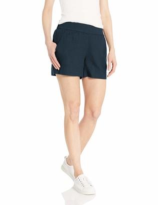 Daily Ritual Amazon Brand Women's Linen Pull-On Short