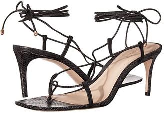 Schutz Antosha (Black Deluxe Napa) Women's Shoes