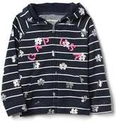 Gap Logo floral zip hoodie