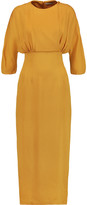 Emilia Wickstead Jojo silk-crepe dress