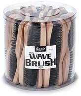 Annie Mini Wave Brush Bulk, Hard Bristles, 24 Count
