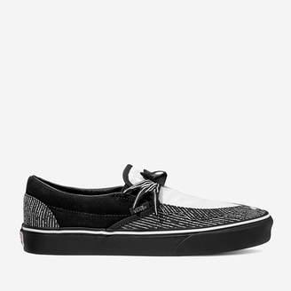 Vans X The Nightmare Before Christmas's Jack Classic Slip-On Trainers - Black/White